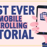 Mobile Hand Scrolling Animation in After Effects