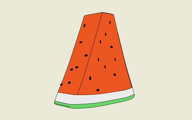 Watermelon Cartoon Shader